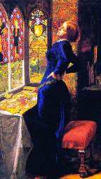 Mariana (1850-1) Sir John Everett Millais Tate Gallery